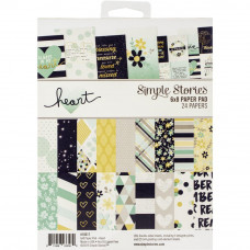 Набор бумаги Heart от Simple Stories