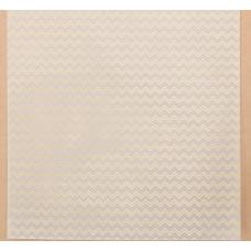 Калька для скрапбукинга с фольгированием «Зигзаги» , 30,5 х 30,5 см