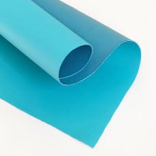 Отрез кожзама, 35х50 см, голубой