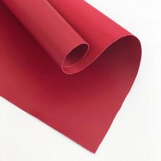 Отрез кожзама, 35х50 см, темно-красный