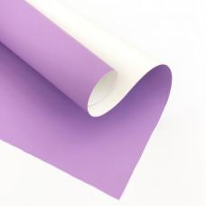 Отрез кожзама, 35х50 см, фиолетовый