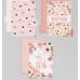 Набор картонных разделителей для планера «Нежность», 16 × 25, 6 листов