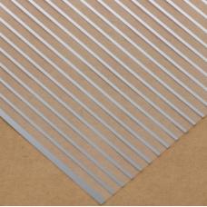 Ацетатный лист с фольгированием «Полоска», 30,5 × 30,5 см