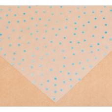 Ацетатный лист «Бирюзовый горошек», 30,5 × 30,5 см
