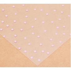 Ацетатный лист «Розовый горошек», 30,5 × 30,5 см