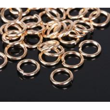 Кольцо соединительное 1,4*10мм  цвет золото