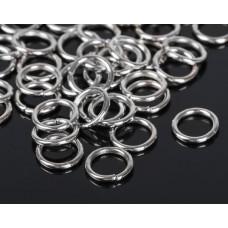 Кольцо соединительное 1,4*10мм  цвет серебро