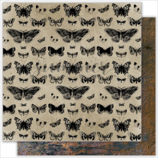 "Лист двусторонней бумаги ""Butterfly"" 250гр"" от summer-studio"