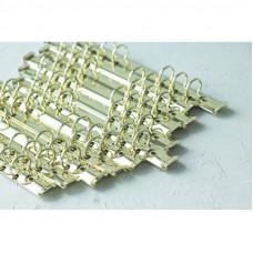 Кольцевой механизм на 6 колец, А5,  золото