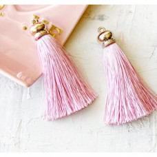 """Кисточка-подвеска """"Нежно розовый""""-8,5 см"""