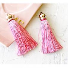 """Кисточка-подвеска """"Розовый""""-8,5 см"""
