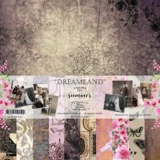 "Набор двусторонней бумаги ""Dreamland"" 11л, 250гр, 30,5*30,5см"