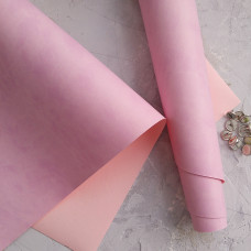 Переплётный кожзам - Лилово-розовый 35*50