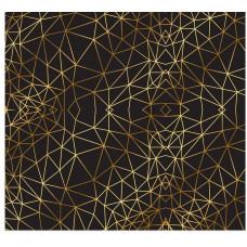 Лист бумаги с золотым фольгированием «Иллюзия»
