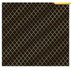 Лист бумаги с золотым фольгированием «Вензеля»