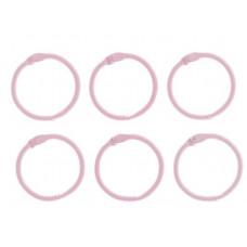 """Кольца для творчества (для фотоальбомов) """"Светло-Розовое"""""""""""