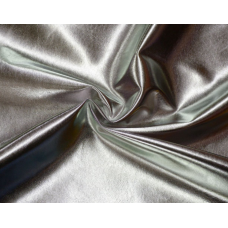 Кожзаменитель Гладкое серебро, 35х55 см