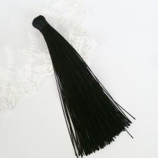 Кисточка подвеска черная 12 см