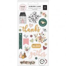 "Набор пафф стикеров ""Auburn Lane Puffy Stickers"" от Pink Paislee"