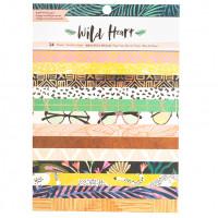 Набор бумаги WILD HEART - 6X8 от Crate Paper