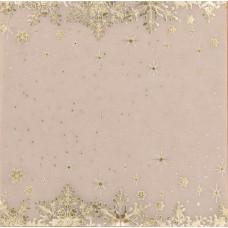 Калька декоративная c фольгированием «Морозные узоры» , 15,5 х 15,5 см