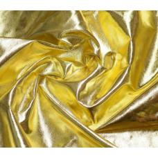 Кожзаменитель Гладкое золото, 33х50 см