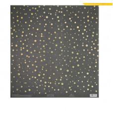 Бумага для скрапбукинга с голографическим фольгированием «Ночное небо», 30.5 × 32 см