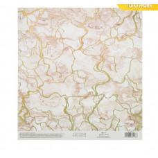 Бумага для скрапбукинга с голографическим фольгированием «Яркие мечты», 20 × 21.5 см