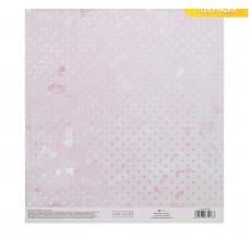 Бумага для скрапбукинга с голографическим фольгированием «Нежная нежность», 20 × 21.5 см