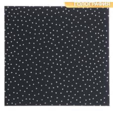 Бумага для скрапбукинга жемчужная с фольгированием «Звёздное небо», 20 × 21.5 см, 250 г/м