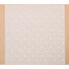 Калька декоративная «Звезды» , 30.5 х 30.5 см