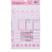 Наклейки для ежедневника «Рецепты», 12 × 21 см, 250 г/м
