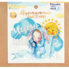 Набор ацетатных высечек «Наш малыш», 11 × 12 см
