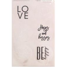 Наклейки LOVE, 16 х 9,3 см
