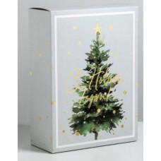 Коробка складная «В Новый год», 22 × 30 × 10 см