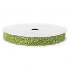 Лента с глиттером Solid Glitter Ribbon от American Crafts SPINACH, 3 ярда