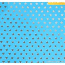 Бумага жемчужная с фольгированием «Особенный подарок», 20 х 20 см, 250 г/м
