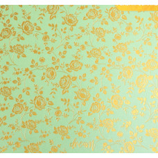 Бумага жемчужная с фольгированием «Мечтай», 20 х 20 см, 250 г/м