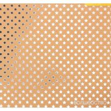 Бумага крафтовая для скрапбукинга с фольгированием «Волшебство», 20 х 20 см, 250 г/м