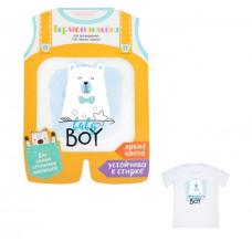 Термонаклейка для декорирования текстильных изделий детская Baby boy