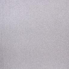 Бумага с глиттером Glitter Paper Silver Solid - Pow - American Crafts
