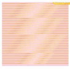 Бумага для скрапбукинга с фольгированием «Полосы», 30,5 х 30,5 см, 180 г/м