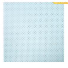 Бумага в листах «Горошек»,  30,5 х 30,5 см, 180 г/м