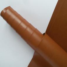 Переплётный кожзам - светло-коричневый глянец 35*50