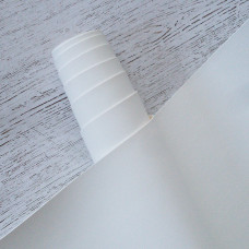 Переплётный кожзам - белый матовый 35*50