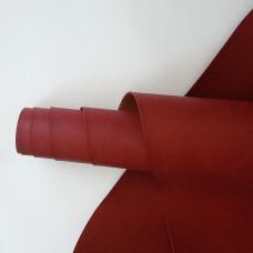 Переплётный кожзам - темно-красный  35*50