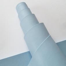 Переплётный кожзам - голубой 35*50
