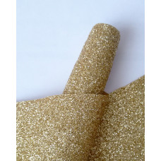 Ткань с глиттером светлое золото