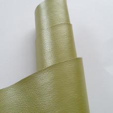 """Искусственная кожа """"Зелень"""" глянец"""