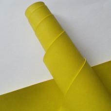 Переплётный кожзам - желто-зеленый 35*50